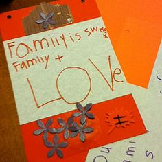 What is family? What does family mean to you? This is a really fun Family Art Night Project: Create a Family banner -- not just art but also conversation and activities. Check it out and share your thoughts on what family means to you.
