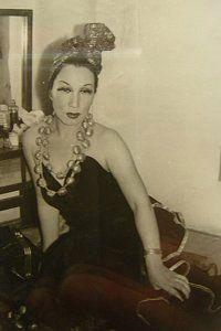 淡谷のり子  Noriko Awaya (1907-1999), japanese chanson singer