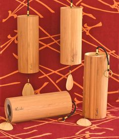 The four tunings of the Koshi wind chimes - Earth, Air, Fire and Water. Soft gentle chimes whose four distinct tunings offer the most beautiful harmonic range of overtones - simple delightful :)