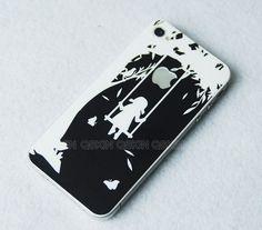 iPhone 5 Decal iphone 4 Stickers iPhone 4s Decals Apple door Qskin