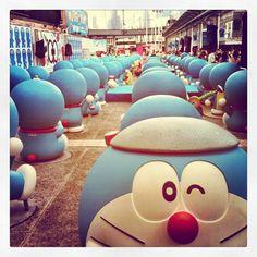 叮噹嚟喇! #hongkong #doraemon #harbourcity - @wesleylam- #webstagram