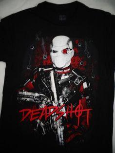 9f2de2702bee0 Suicide Squad Movie Deadshot Bullet Holes Dc Comics T-Shirt  DCComics   GraphicTee Pistoleiro · PistoleiroCamisetas De Quadrinhos Da DcModa  GeekCoringa ...