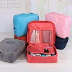 Large Travel Bag Waterproof Storage Bag Luggage Folding Handbag Shoulder Bag  Storage Containers - Newchic Makeup 3c76a5ea17979