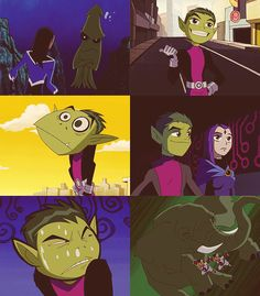 Teen Titans: Beast Boy Photoset