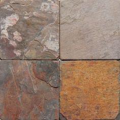 Multi Classic Tumbled And Gauged Tile Slate Wall Tile Slate Wall Tiles, Decorative Wall Tiles, Slate Flooring, Latest Bathroom Tiles, Best Floor Tiles, Outdoor Tiles, Tile Stores, Flooring Store, Terracota