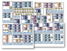 Cartes à pinces : la monnaie CP/CE1
