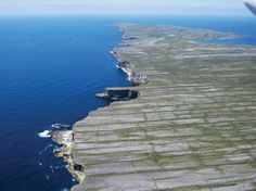 INISHMORE, ARAN ISLANDS, IRELAND  Aer Arann Islands provides shuttle service from Galway to Connemara Airport, from which you can fly to Inishmore.
