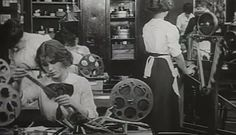 A century ago, women held nearly all film-editing positions—now they're a minority in post-production. Here's what women editors have to say about it. Vhs To Dvd, A Hundred Years, Cinemagraph, Film Industry, Filmmaking, Gender, Hollywood, Actresses, Movies