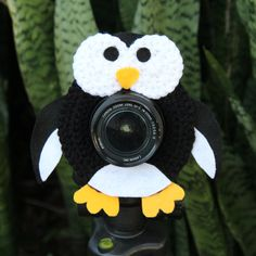 Patty the Penguin Lens Buddy a Photographers Best by cheesypickles, $14.99