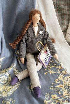 Куклы Тильды ручной работы. Сестра младшая.. Ирина Шляпкина. Интернет-магазин Ярмарка Мастеров. Интерьерная кукла, младшая сестра