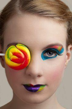 Colorful Make Up Art