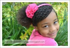 From cute pigtails to buns & twist braids, there's so much variety when it comes to kids hairstyles. Try these cute little black girl hairstyles for your girl! Little Girls Natural Hairstyles, Childrens Hairstyles, Cute Hairstyles For Kids, Kids Braided Hairstyles, Black Girls Hairstyles, Natural Girls, Teen Hairstyles, Going Natural, Haircut Styles For Women