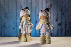Couple dolls. Dolls tilda. Doll Kay and Gerda. Fairy by OwlsUa