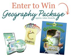 Bright Ideas Press Geography Bundle Giveaway {Valued at $129.85}