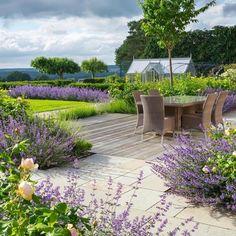 Inspiration @societyofgardendesigners A membership of predominantly brilliant UK garden designers. #gardendesigner #englishgarden #inspiration #gardendesign #nepeta