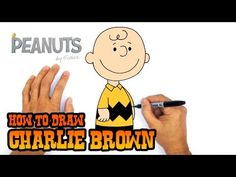 Ideas For Easy Simple Art Drawing Easy Art Lessons, Drawing Lessons For Kids, Drawing Ideas, Graphic Art Prints, Vintage Art Prints, Charlie Brown Videos, Snoopy Drawing, Easy Pictures To Draw, Human Body Art