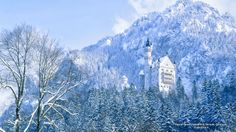 Castle Newschwanstein, Bavaria, Germany