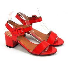 Sandale dama rosii Renata