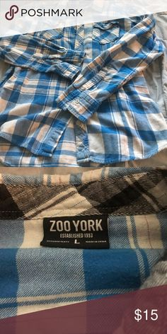 Flannel shirt 🌅 Great flannel shirt Zoo York Shirts Casual Button Down Shirts