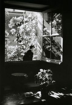 [][][] Édouard Boubat, Stanislas at the window. France, 1973.