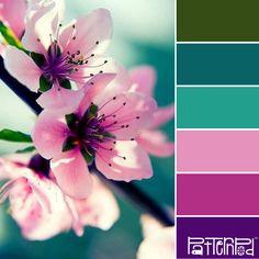 Spring Blossom #patternpod #patternpodcolor #color #colorpalettes