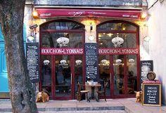 "Restaurant ""Chez Louise"",( Bouchon Lyonnais), Lyon."