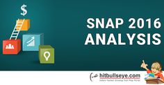 FIND SNAP 2016 ANALYSIS AND CUT OFF @ http://mba.hitbullseye.com/SNAP/SNAP-2016-analysis.php