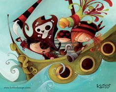 Ketto Design - Bateau Pirate