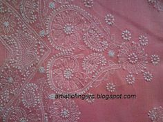 Chikan embroidery free online class
