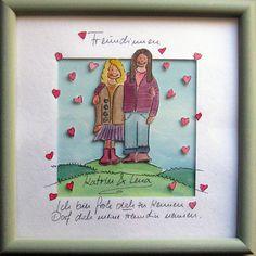 Geschenk für die beste Freundin von Maren Schmidt auf DaWanda.com