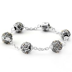 pandora 5 clip bracelet 7500 usd clips sold seperately