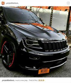 Ford Tarus, Jeep Srt8, Jeep Grand Cherokee Srt, Chevy Trailblazer, Badass Jeep, Custom Muscle Cars, Suv Cars, Jeep Truck, Jeeps