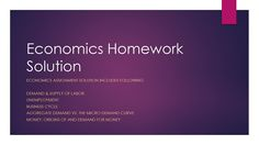 In this way My Econ lab helps build a better level of understanding and helps students understand the homework as well. This is extremely important for students to be able to perform in their exams with the same level of excellence.