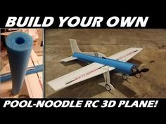 How To Build Your own Pool-Noodle RC 3D Trainer airplane! - YouTube