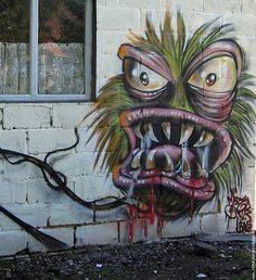 Graffiti Monsters | Monster graffiti
