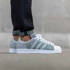 "#copordrop?: @adidasoriginals Superstar Weave ""Clear Grey"" Photo: @titoloshop"