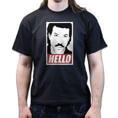Lionel Hello Richie Obey cd album vinyl T-shirt P24