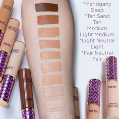 What Shades Do The Tarte Cosmetics Shape Tape Concealers Come In? They've Got Quite The Range