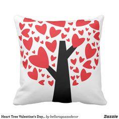 7308adbb6ebec4 Heart Tree Valentine s Day Pillow Lahjoja Lapsille