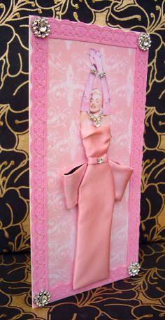 Diamonds Are a Girls Best Friend Dress Card / Marilyn by BSylvar
