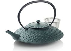 Japanese Cast Iron Teapot: Cast iron teapots are the best way to brew tea. They're a bit pricey but if you take your tea drinking seriously, they're totally worth it.