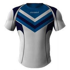 Looking for Rugby Shirts contact Scorpion Sports. UK manufacturers of bespoke shirts for your Rugby club or school.
