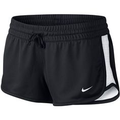 Women's Nike Dri-FIT Gym Reversible Workout Shorts, Size: X LARGE,... ($22) ❤ liked on Polyvore featuring activewear, activewear shorts, black white, nike activewear, nike and nike sportswear
