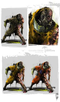 DEAD ISLAND RIPTIDE CONCEPT ARTS on Behance Spooky Scary, Creepy, Fallout Concept Art, Zombie Monster, Apocalypse Art, Horror Pictures, Zombie Art, Creature Concept, Horror Art