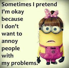 Sometimes I pretend
