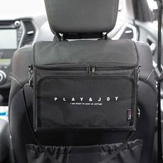 This car backseat multi-pocket organizer, storage, cooler and tablet holder is perfect for every car owner. It's equipped with a cooler so you can keep your bev Food Storage, Storage Organization, Storage Spaces, Tablet Holder, Phone Holder, Pocket Organizer, Tablet Phone, Interior Accessories, Bento Box