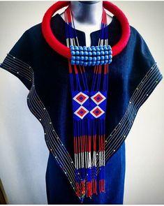 Zulu Traditional Attire, South African Traditional Dresses, Traditional Outfits, African Inspired Fashion, African Print Fashion, Ethnic Fashion, African Print Dresses, African Fashion Dresses, African Dress