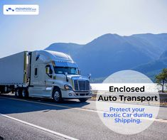 Go for enclosed auto transport to keep your exotic car scratch-less. Want the process to be quicker? You can choose expedited delivery as well. #enclosedautotransport #HassleFree #InstantShipping #OnlineAutoDelivery #movecar #CarShippingCost #autotransportcarriers #autotransport #carshipping