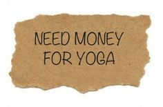 Why's yoga so F***ing expensive?