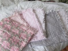 Hey, I found this really awesome Etsy listing at https://www.etsy.com/listing/178874928/set-of-3-burp-cloths-burpies-pink